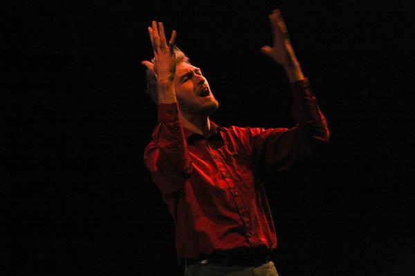 Macbeth: rehearsing